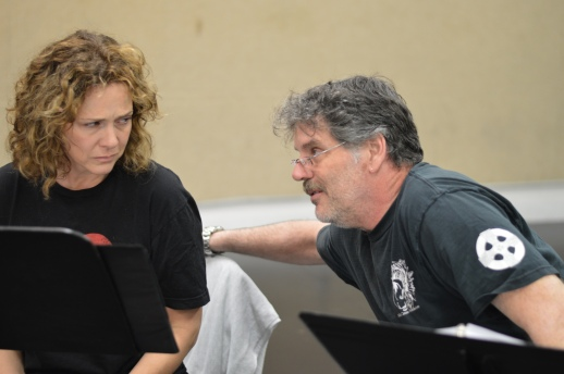 Tiffany Morgan and Kevin Stillwell in EWL reading of Theroun D'Arcy Patterson's THE CANNIBALS
