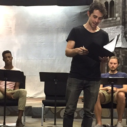 Dane Troy, Barrett Doyle and Joshua Mikel in an On Demand reading of Derek Dixon's WHEN THINGS ARE LOST