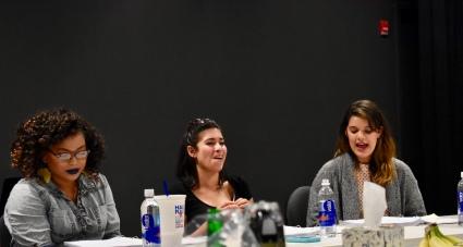 EWL PHEROMONE Rebekah Suellau, Diany Rodriguez and Erika Miranda