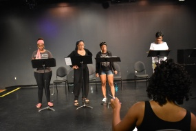 Brittany Inge, Jen Harper, Tracey Bonner, Tonia Jackson and Cynthia Barker Y:T