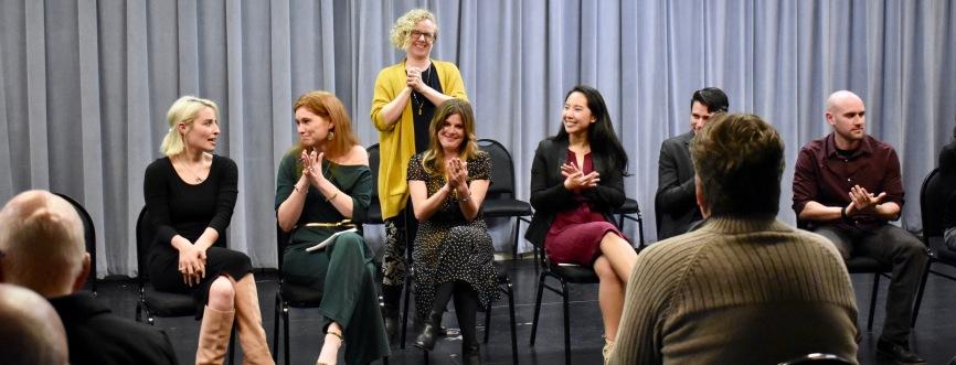 Alexandra Sanders, Rebekah Suellau, Emily McClain, Amber Bradshaw, Michelle Pokopac, Daniel Sakamoto-Wengel and Jeff Hathcoat