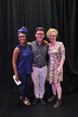 Dr.Angela Schiller, Quinn Xavier Hernandez and Amber Bradshaw